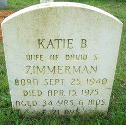 Katie B <I>Martin</I> Zimmerman