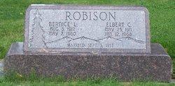 Elbert C Robison