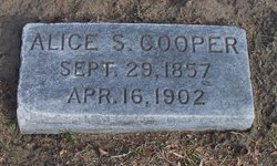 Alice S. <I>Cooper</I> Johnson