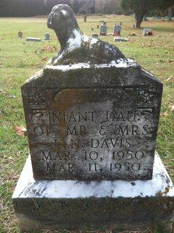 Infant Daughter Davis