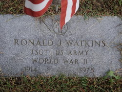 Sgt Ronald J. Watkins