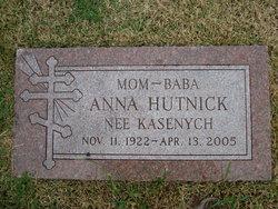 Anna <I>Kasenych</I> Hutnick