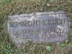 Bernard H McIlduff