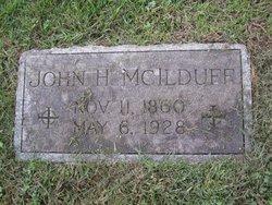 John H McIlduff