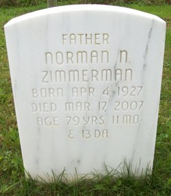 Norman N Zimmerman