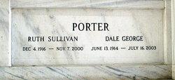 Ruth <I>Sullivan</I> Porter
