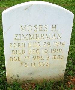 Moses H Zimmerman
