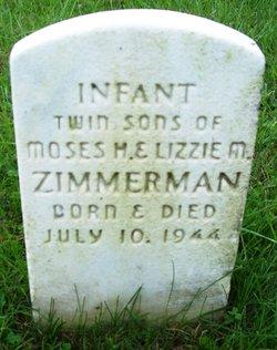 Infant  Son Twin Zimmerman
