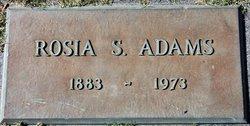 Rosia S Adams
