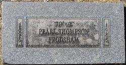 "Estella Pearl ""Jimmie"" <I>Thompson</I> Frodsham"