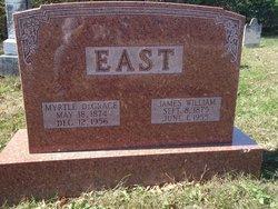 Myrtle DeGrace <I>Clark</I> East