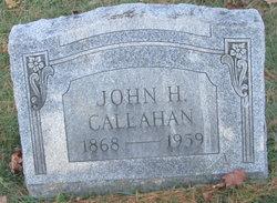 John H Callahan