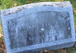 Frances M Phillips