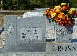 Marvin K Cross