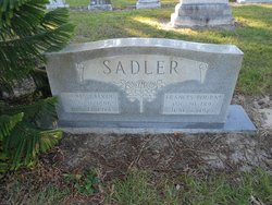 Frances <I>Bourne</I> Sadler