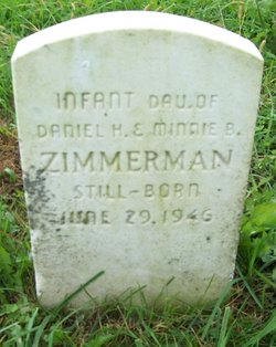 Infant  Daughter Zimmerman