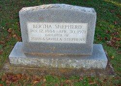 Bertha <I>Stephens</I> Shepherd