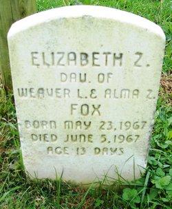Elizabeth Z Fox