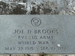 Joe D Brooks