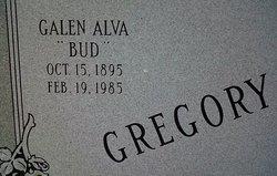 """Galen Alva """"Bud"""" Gregory"""