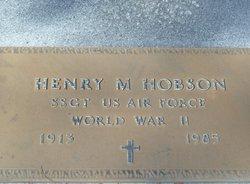 Henry M Hobson