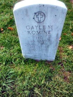 PFC Gayle M Romine