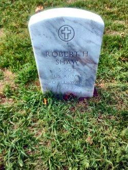 Sgt Robert H Shaw