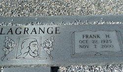 Frank H LaGrange