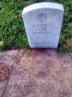 PFC Russell Lee Simpson