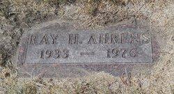 Ray H. Ahrens