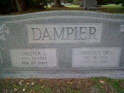 Geneyle <I>Dick</I> Dampier