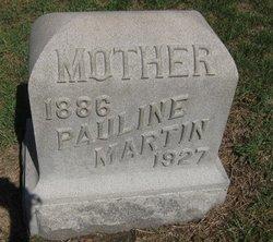 Pauline <I>Ohmer</I> Martin