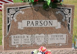 Harold W Parson