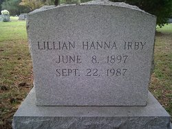 Lillian <I>Hanna</I> Irby