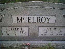 Gerald E McElroy