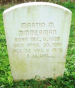 Martin M Zimmerman