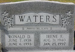 Ronald D Waters