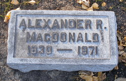 Alexander R. MacDonald
