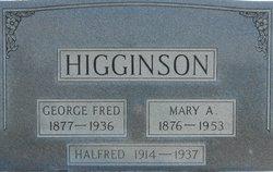 Halfred Eugene Higginson