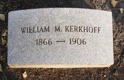 William M. Kerkhoff
