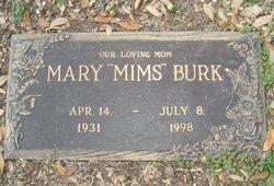 """Mary Frances """"Mims"""" <I>Burk</I> Larson Flolo"""