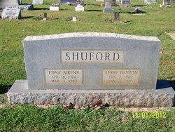 Edna <I>Aikens</I> Shuford