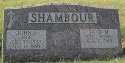 """John F """"Jack"""" Shambour"""