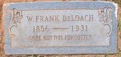 """William Franklin """"Frank"""" DeLoach"""