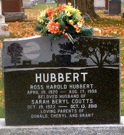Sarah Beryl <I>Coutts</I> Hubbert