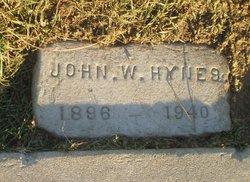 John W Hynes