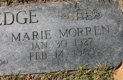 Marie <I>Morren</I> Blackledge