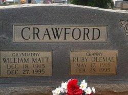 William Matt Crawford