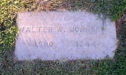 Walter W Johnson