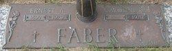 """Caroline Marie """"Carrie"""" <I>Dorfer</I> Faber"""